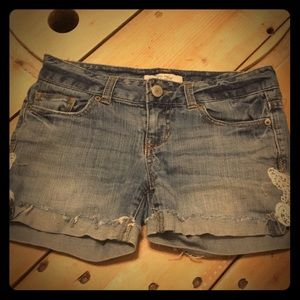Aeropostale Jean Shorts with Lace